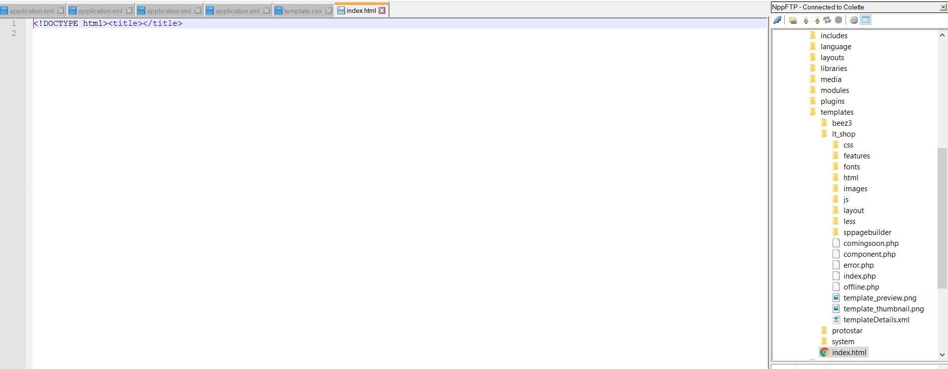 Modifier Html De Son Template Forums Joomla Fr