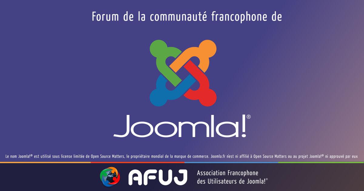 site de rencontres joomla